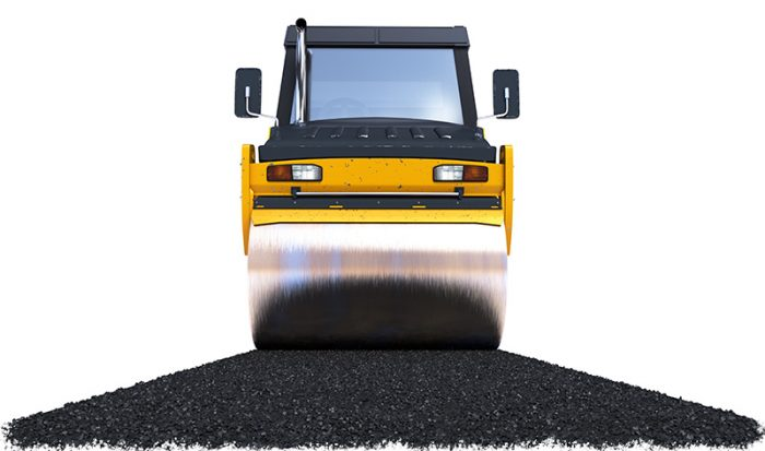#1 Asphalt Paving Contractors in Nashville - Steamroller