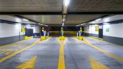 Commercial Asphalt Paving Contractor in Nashville - Underground car parking garage